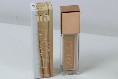 URBAN DECAY STAY NAKED WIGHTLESS LIQUID FOUNDATION 30WY SWATCHED ONCE IN BOX!, usado segunda mano  Sevilla