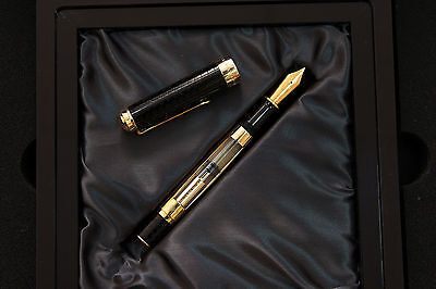 EXTREMELY RARE PELIKAN 75TH ANNIVERSARY LIMITED EDITION FOUNTAIN PEN, FULL SET