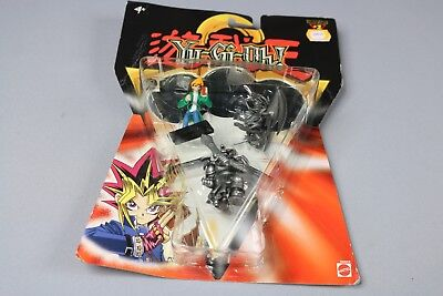 ZB1134 Mattel Jeu Jouet 56553 3 Figurines Yu-Gi-Oh Série 2 Holo Tile 2002