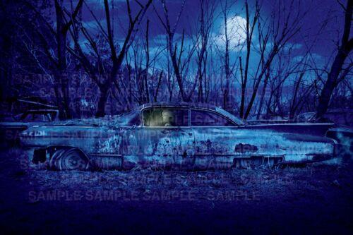 1959 Cadillac Poster    Midnight Cadillac    Rockabilly Art