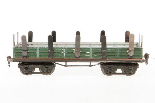 AB954: Vintage Märklin Gauge 1 Stake / Bolster Wagon 1952/1