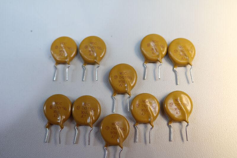 10x Maida Zinc Oxide Varistor ZOV 420VAC 560VDC 660VDC 6000A MDC Z421 90UL
