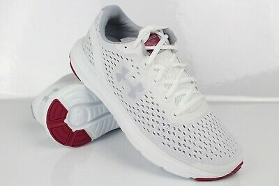 Under Armour Women's UA Charged Impulse Running Shoes Size 8 White 3021967 102