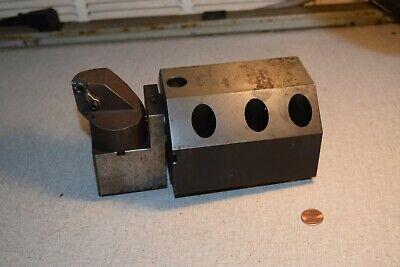 Komet Abs 50 Turret Block Tool Holder For Deawoo Cnc Lathe Ua0111480