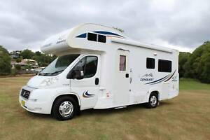 2009 Fiat Jayco Conquest Motorhome Automatic Low Kilometers Tweed Heads South Tweed Heads Area Preview