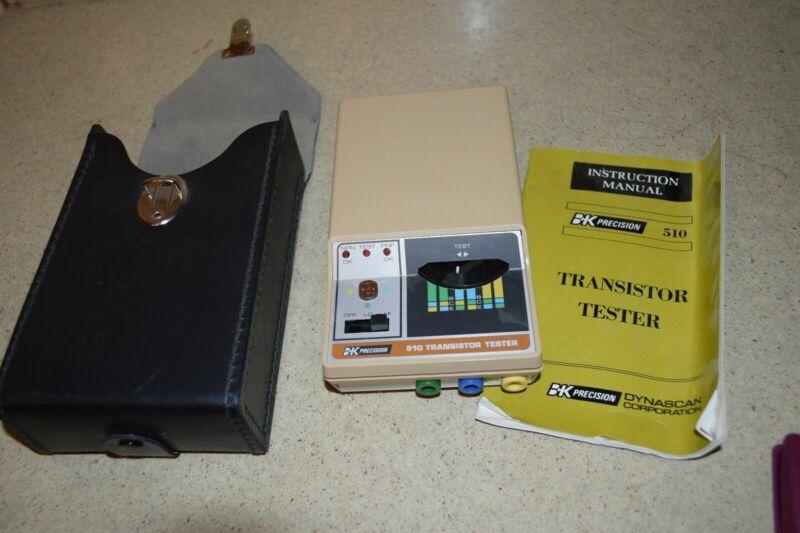 ^^ BK PRECISION 510 TRANSISTOR TESTER