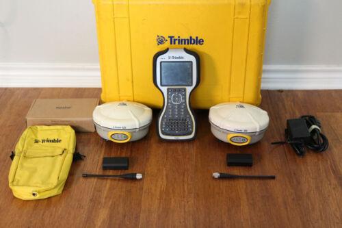 Trimble Dual R8 Model 2 GPS GNSS Glonass RTK Survey Receiver Setup w/ TSC3