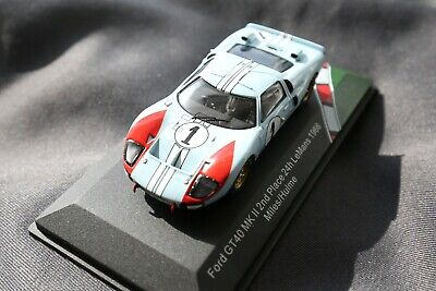 """FORD v FERRARI"" Movie-Ken Miles-1966 Ford GT40-Scale 1/43 by CMR"