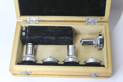 Lomo Microscope Objective Set Polarising Pol 20 60 90 Rms Thread Box Collars