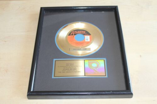 "Donna Summer  - USA RIAA Gold 7"" Award / This Time I Know Its For Real"