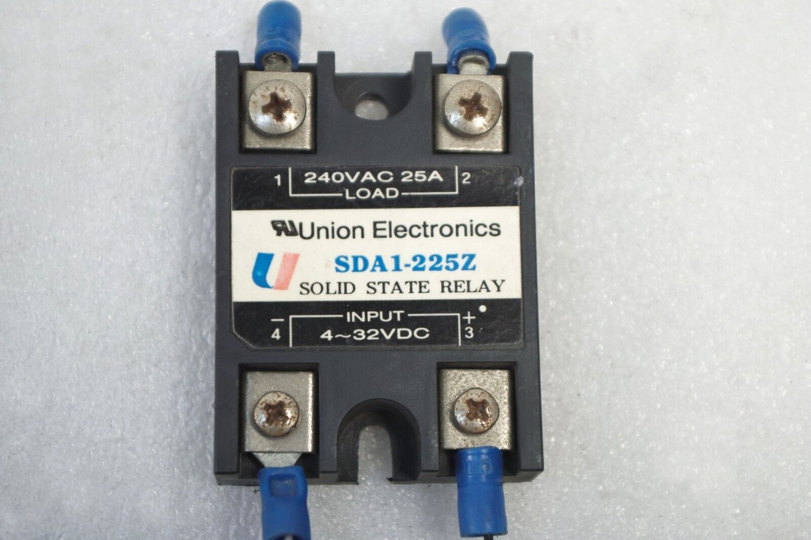 Union Electronics Solid State Relay Sda1 225z Lot Of 3 Free Ship Z240d10
