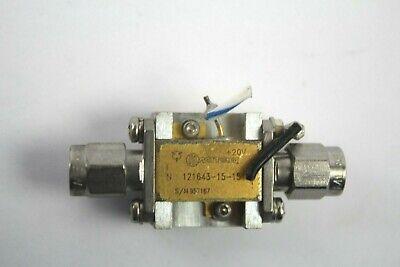 Miteq 121643-15-15 3.4-18 Ghz 15db Amplifier