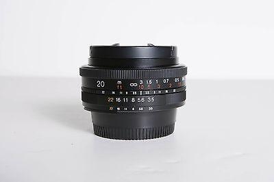 Voigtlander Color Skopar 20mm f/3.5 Aspherical SL II Lens Nikon F-Mount