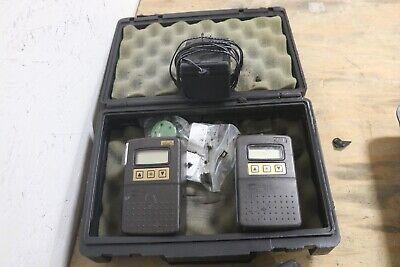 Skc Airchek 2000 Programmable Air Sampler Pump Lot Of 2