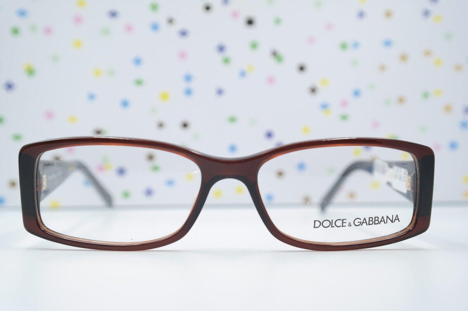 Brille Brillengestell Dolce Gabbana DG 3076 1830 braun Logo 53/15 140 NEU