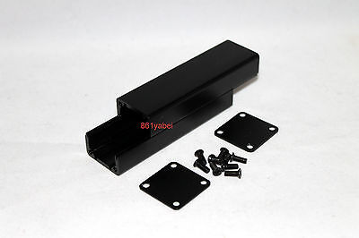 Black Extruded Aluminum Box Enclosure Case Project Box Diy 802525mm Us Stock