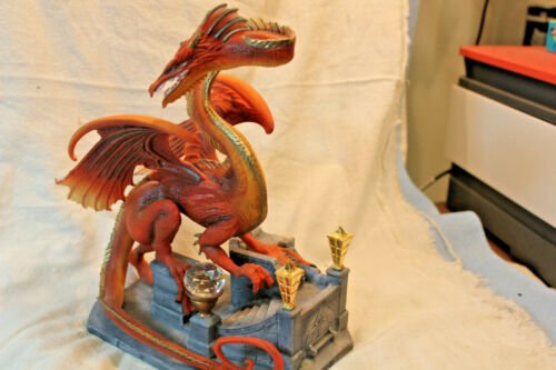 FRANKLIN MINT SMAUG THE GOLDEN DRAGON LORD OF THE RINGS