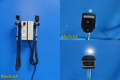 Welch Allyn 74710 Wall Transformer W Opthalmoscope Otoscope Heads 22301