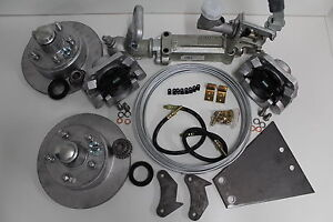HYDRAULIC DISC COMPLETE TRAILER BRAKE KIT. BOAT/CARAVAN CAR TRAILER