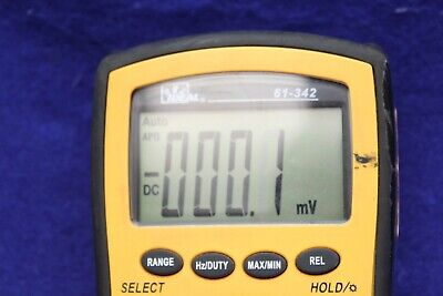 Ideal 61-342 Multimeter Tester Meter