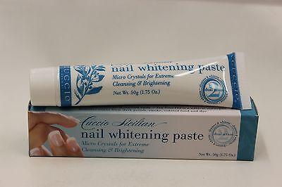 C3086 - Cuccio - Nail Whitening Paste 1.75 oz (50g)  - Brand New