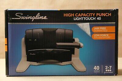Swingline Desktop Hole Punch Heavy Duty Hole Puncher Lighttouch Adjustable...
