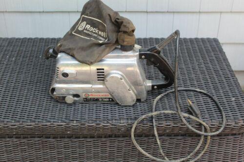 ROCKWELL Model #503,  3 X 24 BELT SANDER, Heavy Duty, With Bag