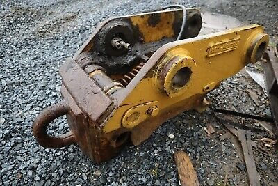 Cat 315 Excavator Hendrix Hydraulic Quick Coupler