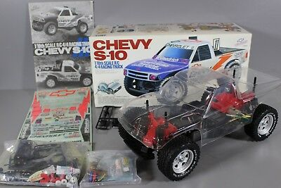 Vintage New Partial Built Tamiya 1/10 Chevy S10 Baja Racing Truck 58146 Futaba for sale  Arcadia