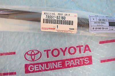 GENUINE TOYOTA 07-16 YARIS OEM (RH) PASSENGER SIDE ROOF DRIP MOLDING 75551-52160