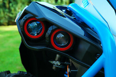 TRIM RING Kit for Can Am Renegade 2006 and up Trim-ring