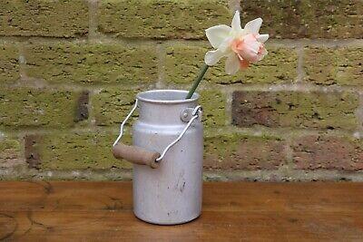 Small Aluminium Milk Churn - French, Vase, Planter - Wedding or display #21