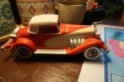 Dept 56 Christmas in the City 1935 Duesenberg Red Car 58964 Retired