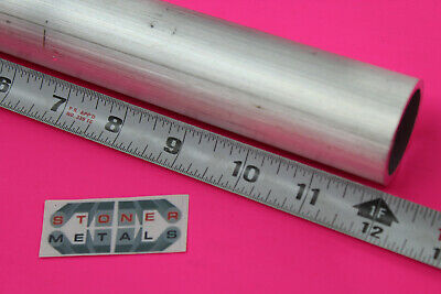 1-12 Od X 18 Wall 6061 T6 Aluminum Round Tube 12 Long Extuded Seamless