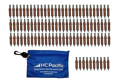 100 Each C18 Cleco Fasteners Pouch Drill Size 30 Grip 0-14 Made In Usa