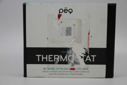 PEQ Touch Thermostat White 3157100-WP