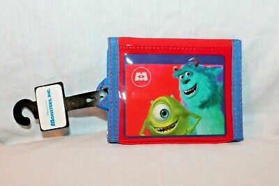 NEW WITH TAG  MONSTERS INC KIDS WALLET - Monster Inc Kid