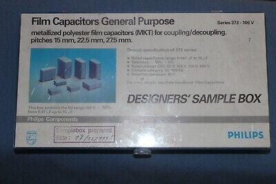 New - Philips Metallized Polyester Film Capacitor Mkt Assortment Sample Kit