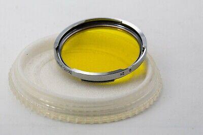 Original Zeiss Ikon Contarex Gelb Yellow Filter Lens Bajonett B-56  2X  B56