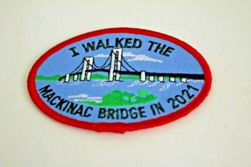 MACKINAC BRIDGE WALK 2021 patch
