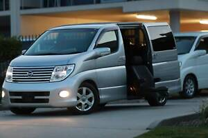 MY 2007 Nissan Elgrand Disability Access Vehicle only 43KM GPS Wetherill Park Fairfield Area Preview