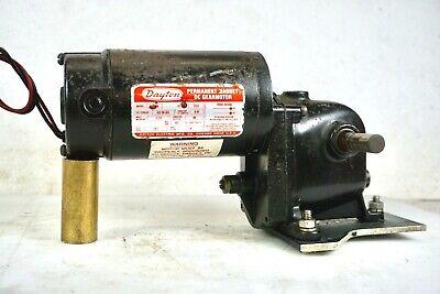 Dayton 4z726a Magnet Dc Gear Motor