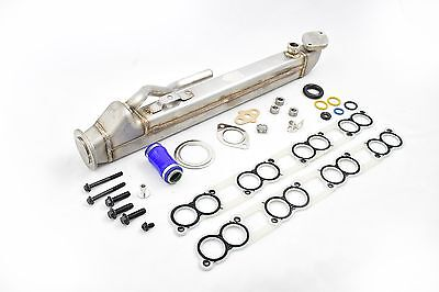 Welded EGR Cooler Delete Kit & Gaskets For 04.5-2007 Ford 6.0 Powerstroke Diesel