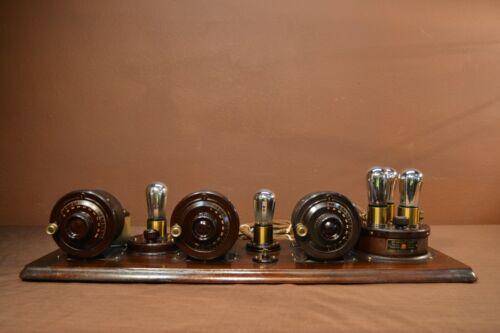 Atwater Kent Breadboard Model 10 Radio #1551