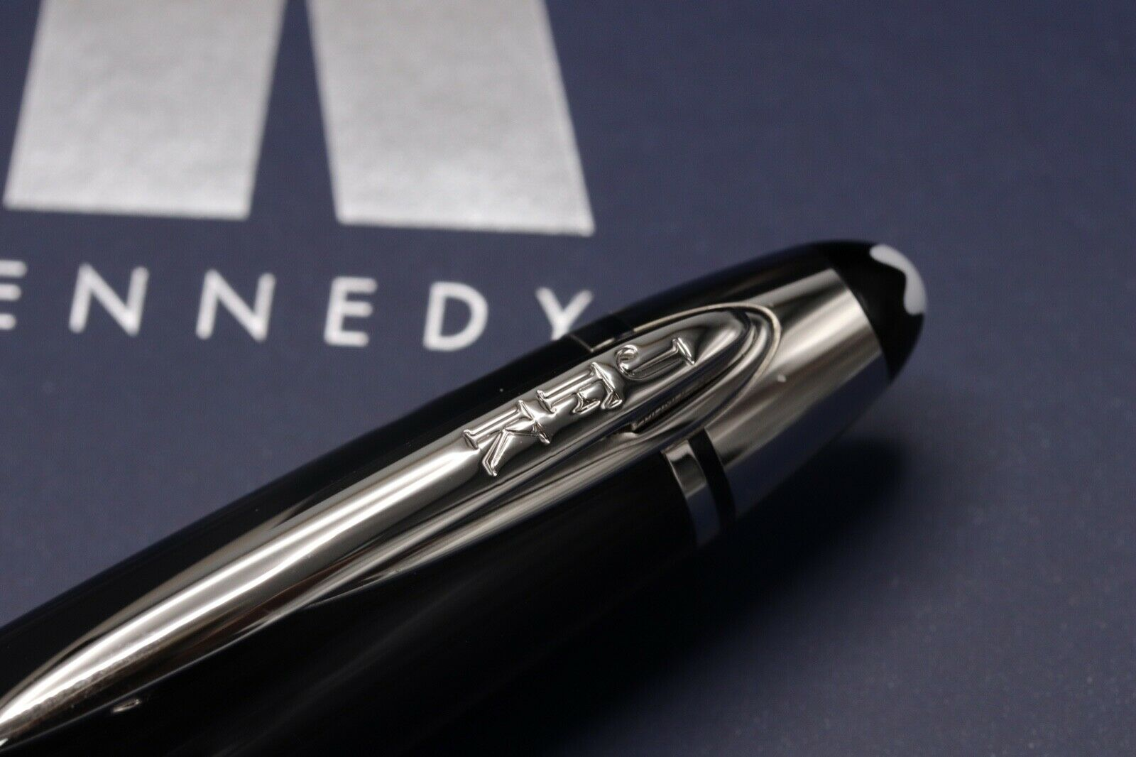 Montblanc Great Characters JFK Blue Special Edition Fountain Pen - UNUSED 5