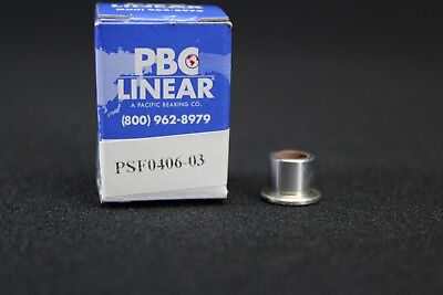 Pbc Linear Sleeve Flange Bearing Id 14 In Pbc Linear Psf0406-03 2cpv1