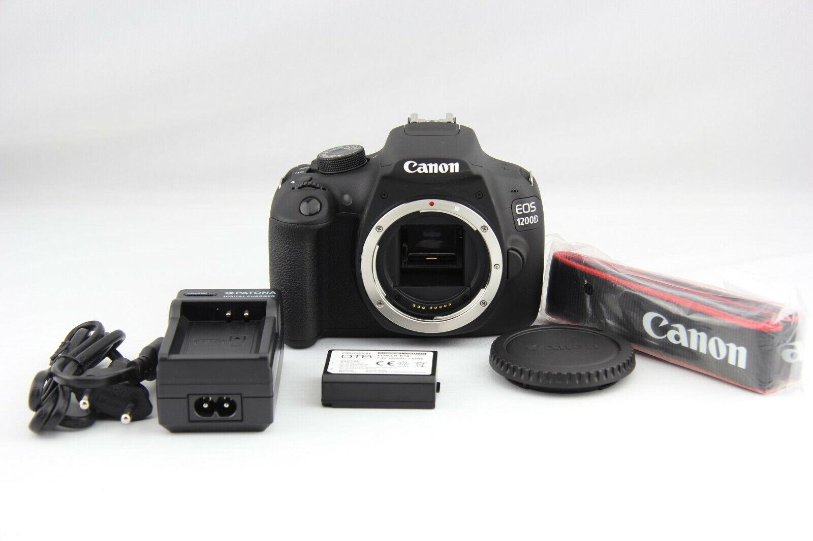 Canon EOS 1200D Body digitale Spiegelreflexkamera mit 9 Auslösungen # 7440