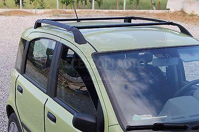 Barre da tetto Fiat Panda 2003-2011 portatutto portapacchi portabagagli 50 Kg