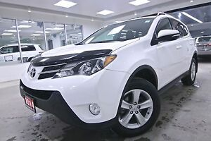 2014 Toyota RAV4 XLE, NAV, POWER GROUP, ALLOYS, ROOF,  FULL SERV
