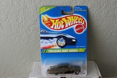Hot Wheels 1995 Treasure Hunt #2 Gold Passion
